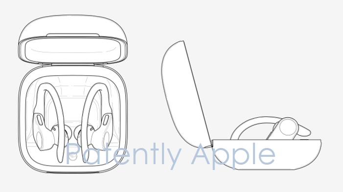 1 x Cover Apple design patents  Powerbeats