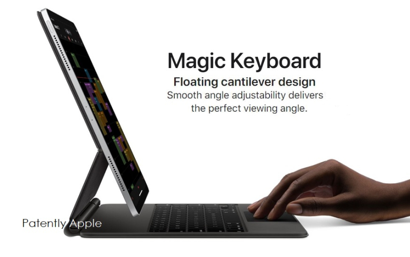 1x cover Magic Keyboard for iPad Pro
