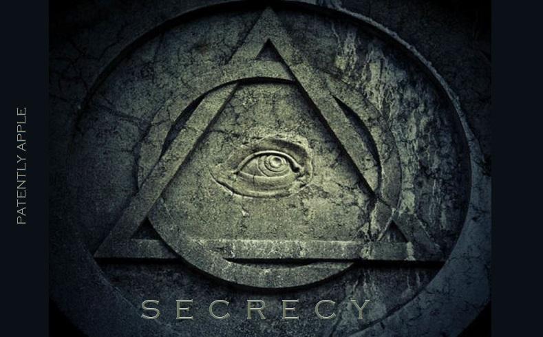 1 COVER SECRECY  APPLE DEVELOPMENT