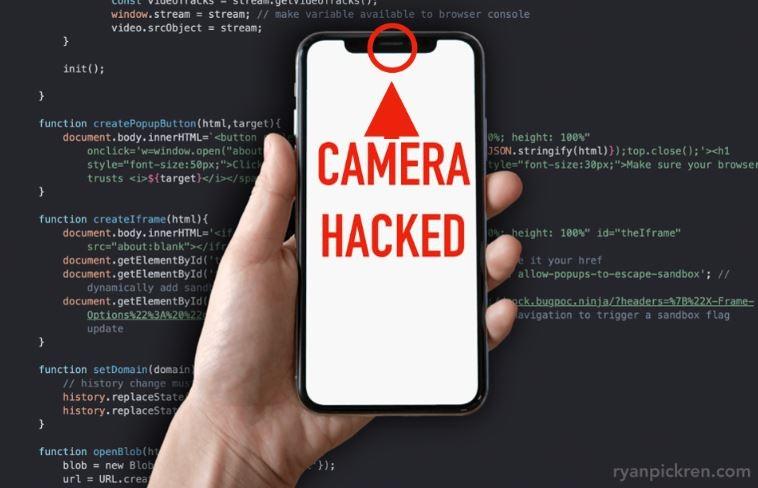 1 cover iPhone camera hack