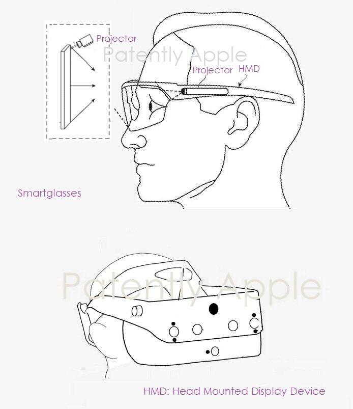 2 x Apple smart glasses image april 2020