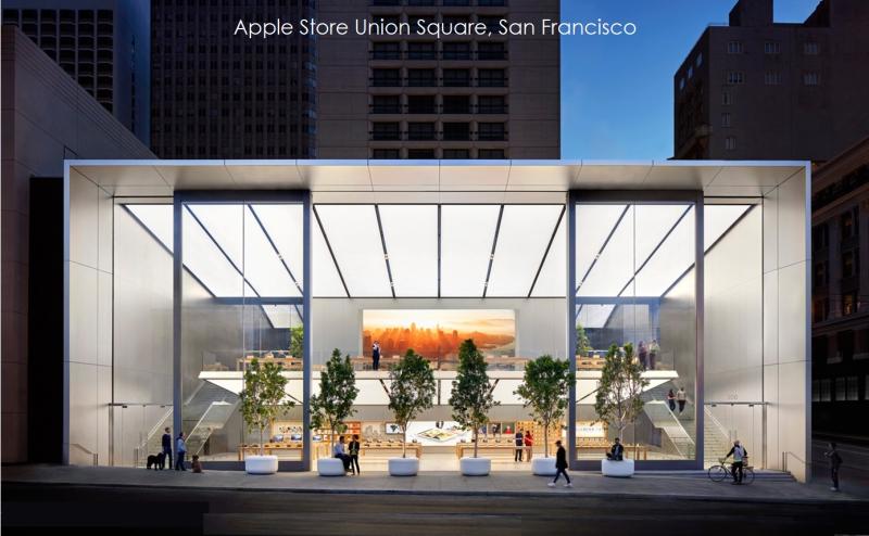1 x  Cover Apple Store Union Square SanFran