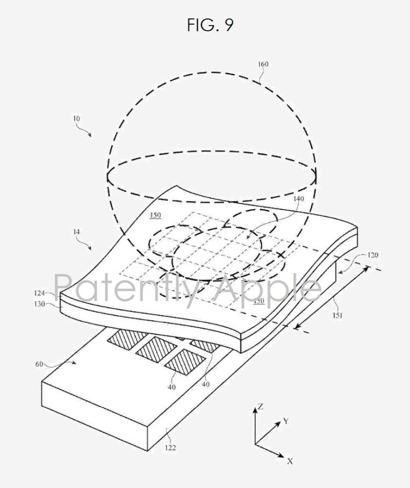 2 x fig. 9 apple patent