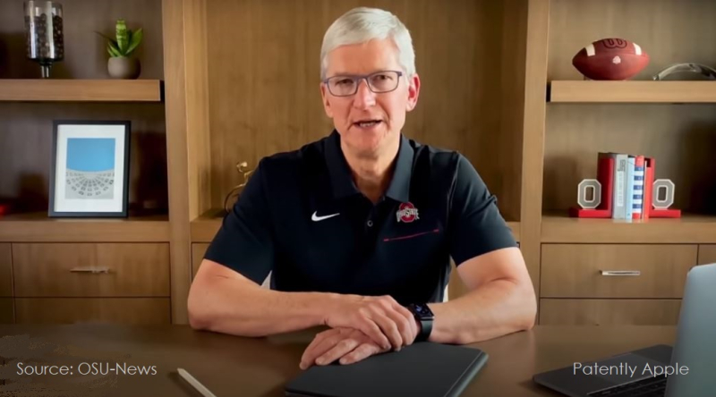1 x cover Tim Cook OSU Commencement Address  Virtually delivered