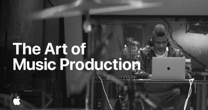 1 x Cover Apple video  music production with Oak Felder