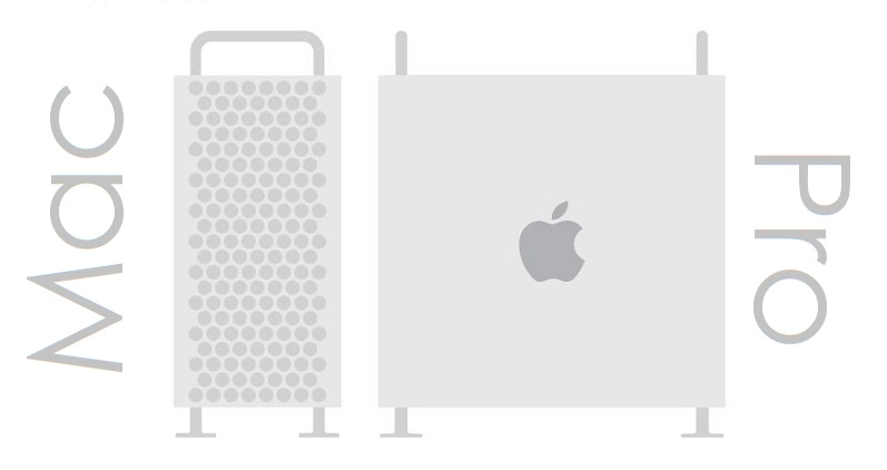 1 X Cover Mac Pro Tubular Architecuture