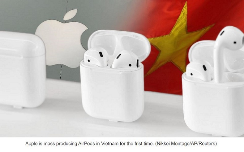 1 X COVER AIRPODS MADE IN VIETNAM
