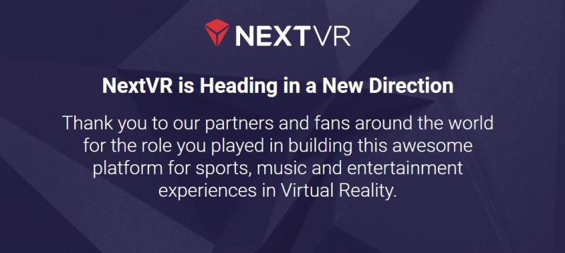 1 Cover NextVR