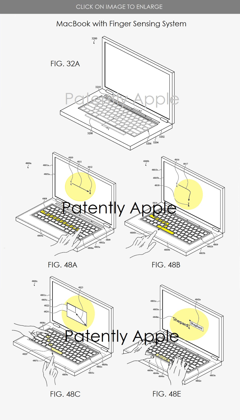 2 x apple wins patent for Macbook's new features