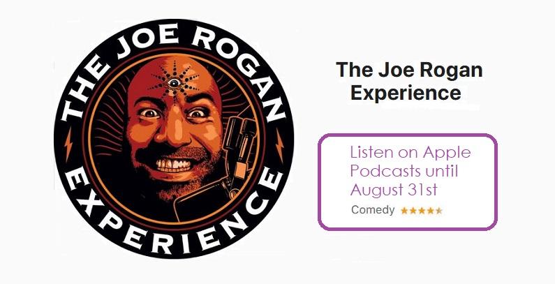 1 x cover Joe rogan