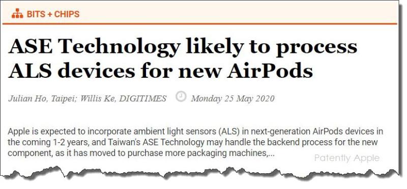 4 x Ambient light sensor rumor