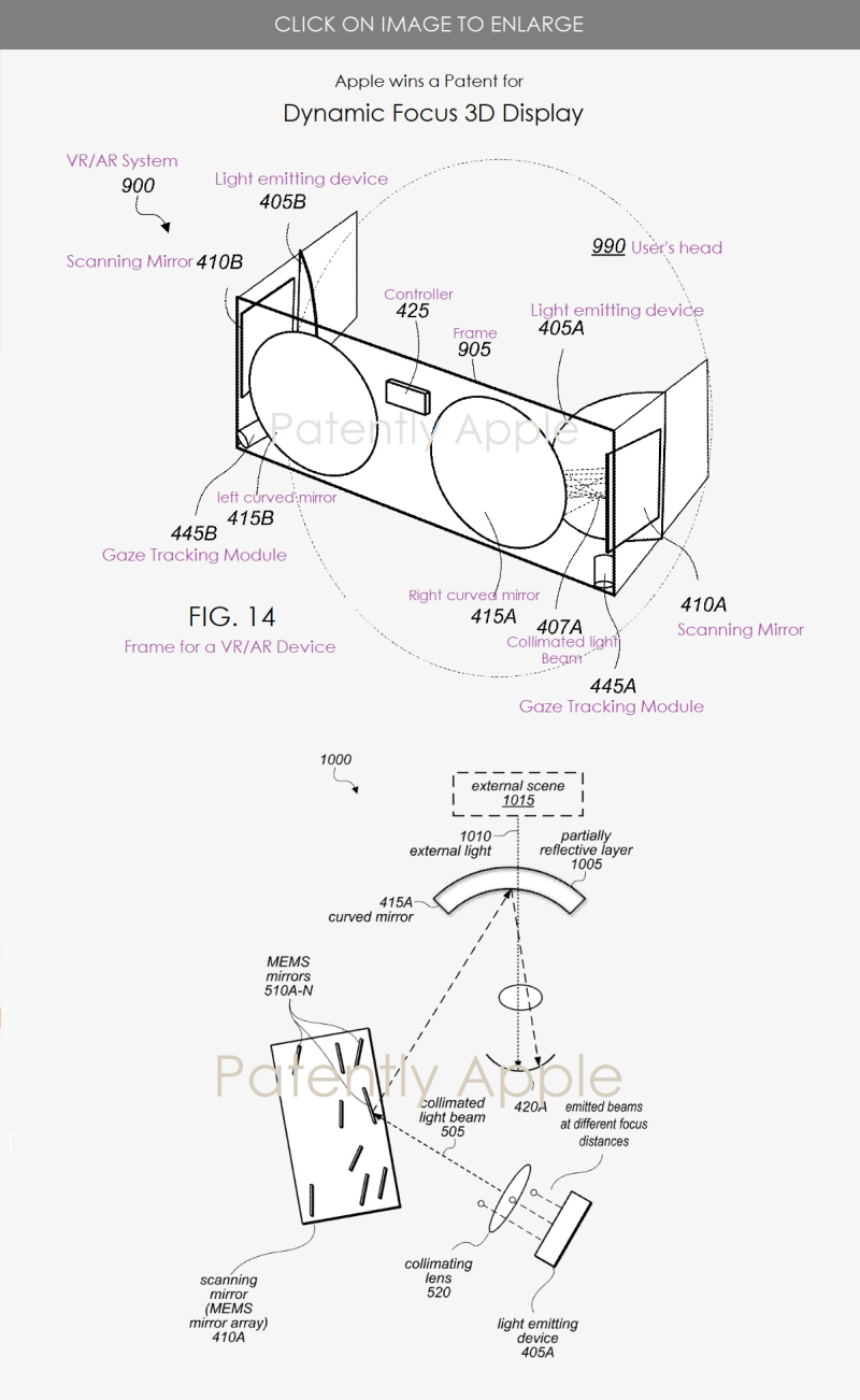 2 AR VR DEVICE WITH 3D DISPLAY