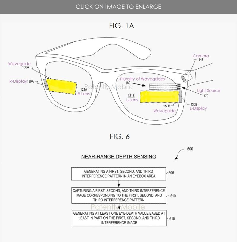 2 facebook - structured light depth sensing
