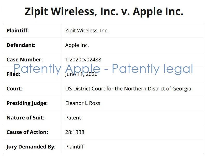 3 zipit v apple patent infringement case