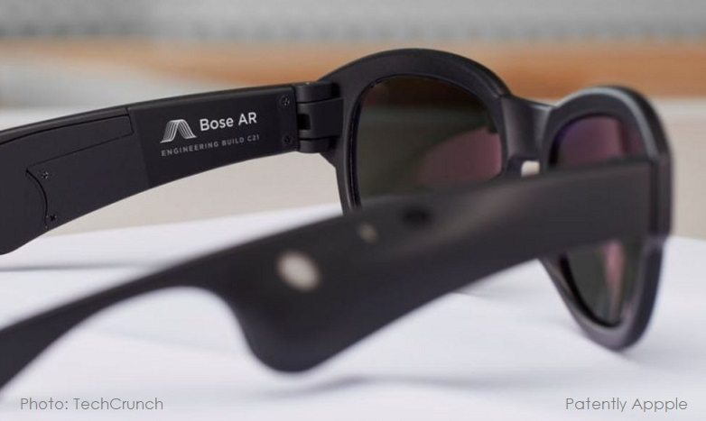 1 x Bose AR glasses are toast