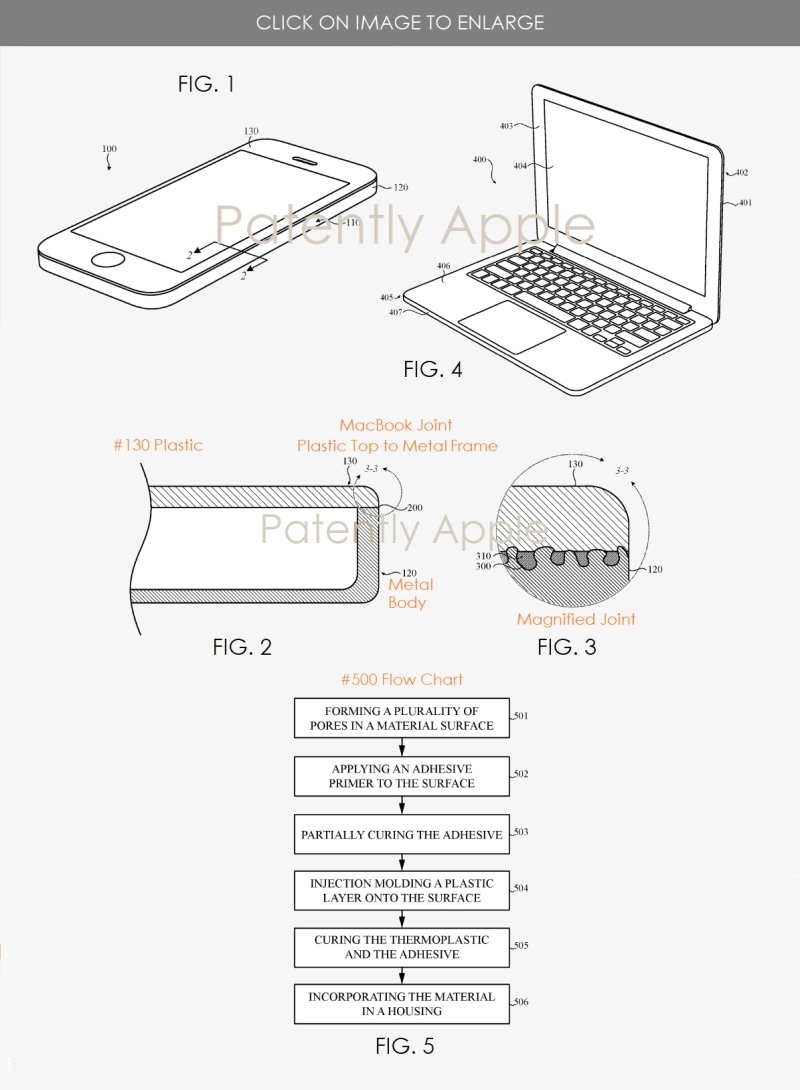 2 Plastic + metal Hybrid MacBook construction