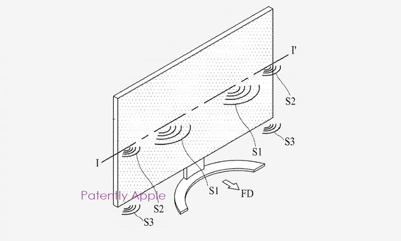 1 x cover lg audio-through display patent for PCs
