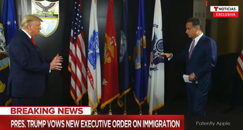 1 x cover Trump on DACA