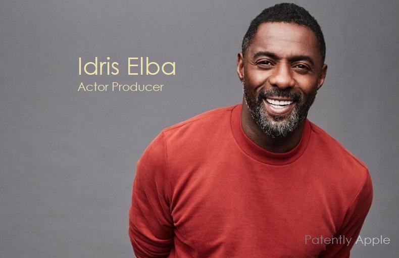 1 x cover Idris Elba