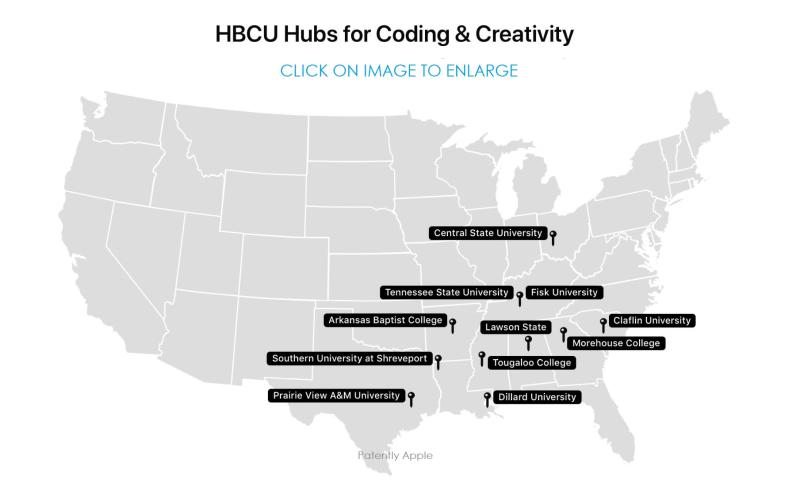 2 APPLE HBCU HUBS FOR CODING