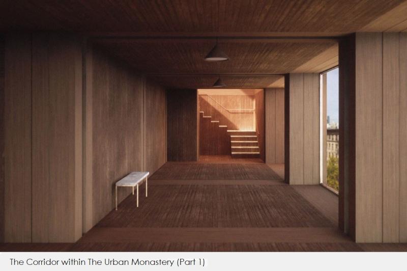 3 XFINAL - The Urban Monastery  A corridor