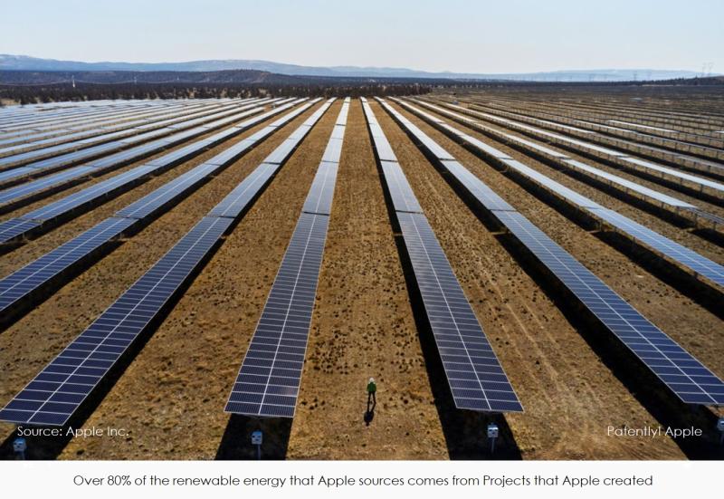 2 x apple solar farm