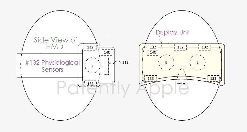 1 X F - COVER -  APPLE HMD WITH PHYSIOLOGICAL SENSORS BUILT-IN