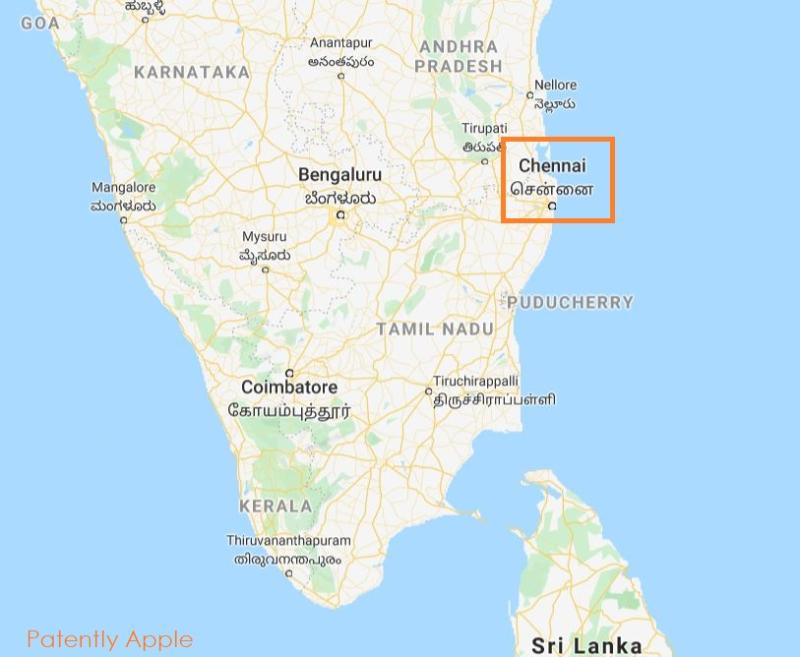 2 x Chennai southern India