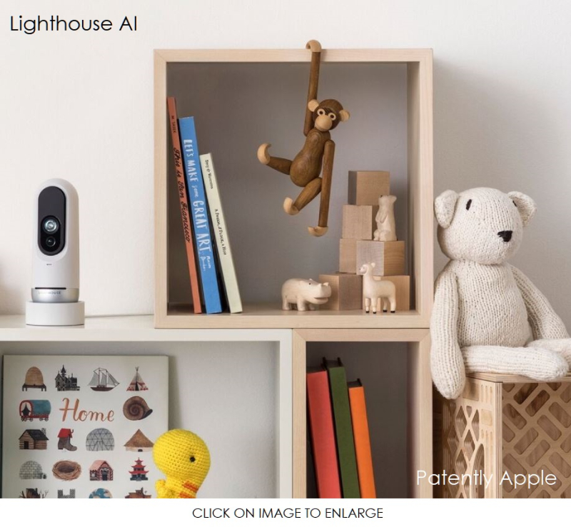 4 Lighthouse AI photo  now granted Apple Patent Aug 2020