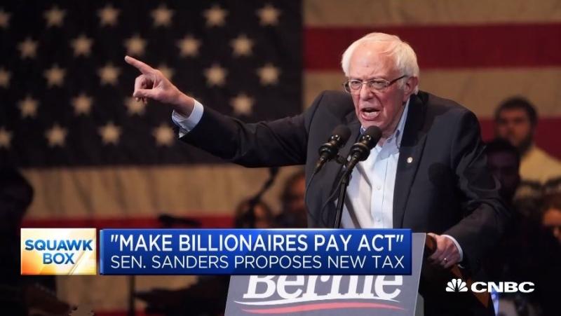 1 XF - COVER -  Bernie Sanders billionaire tax