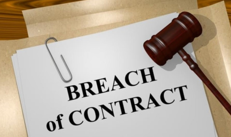 1 X Breach of Contract