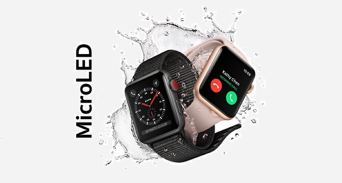 1 cover micro-LED for Apple Watch