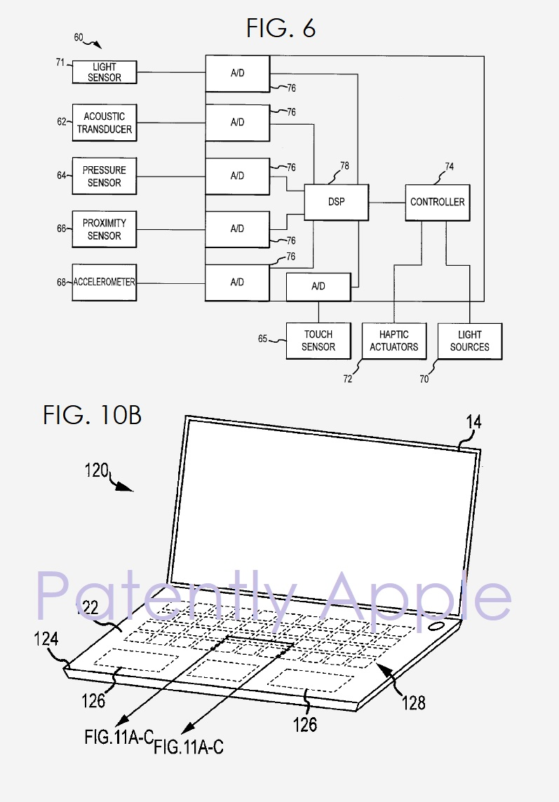 2 APPLE PATENT FIGS FOR HYBRID MACBOOK