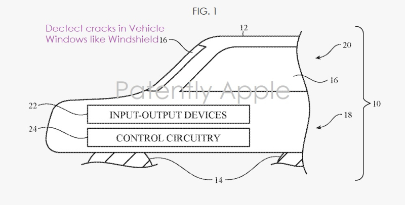 4 windshield crack detection