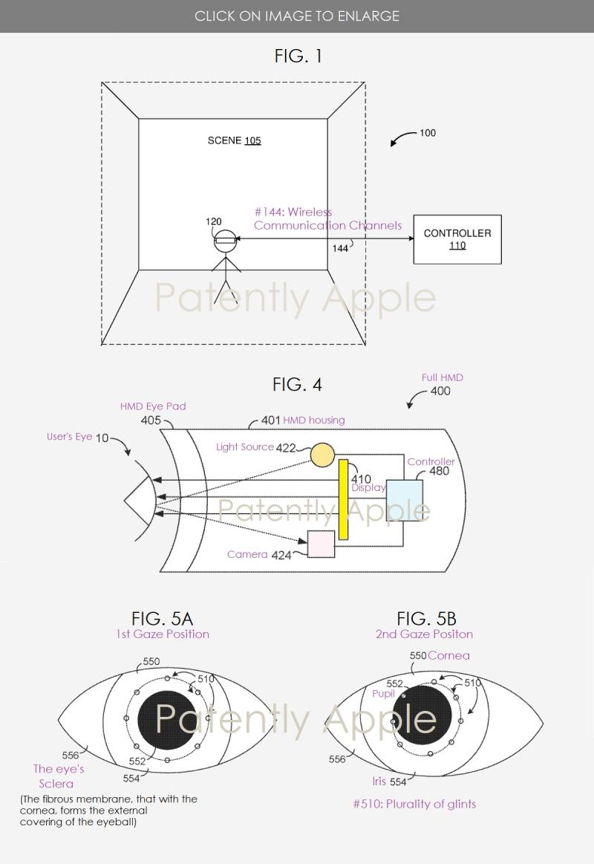 2 x hmd eye tracking system