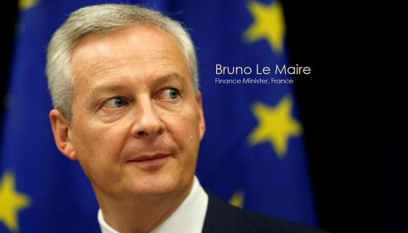 1 x cover  Bruno Le Maire
