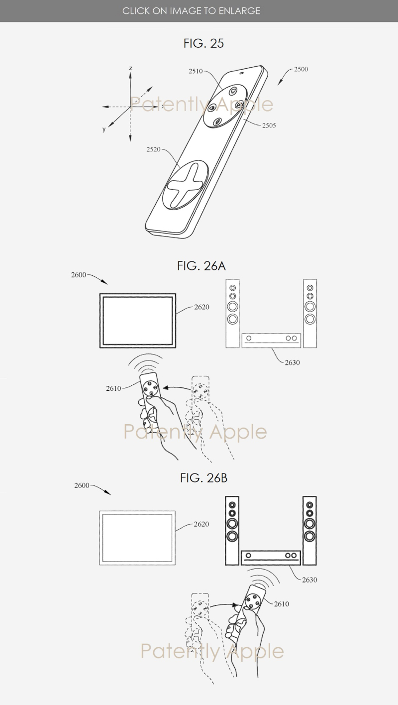5 XF smart home apple patent figures