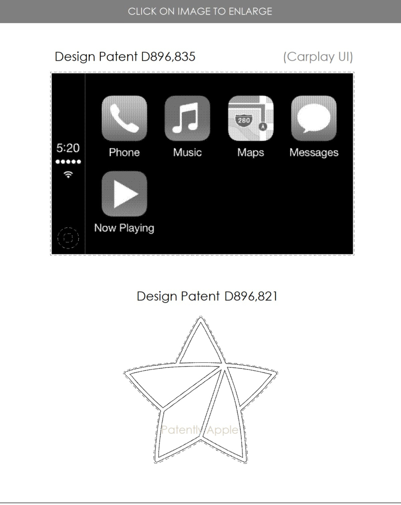 4 Apple design patent for AirPods