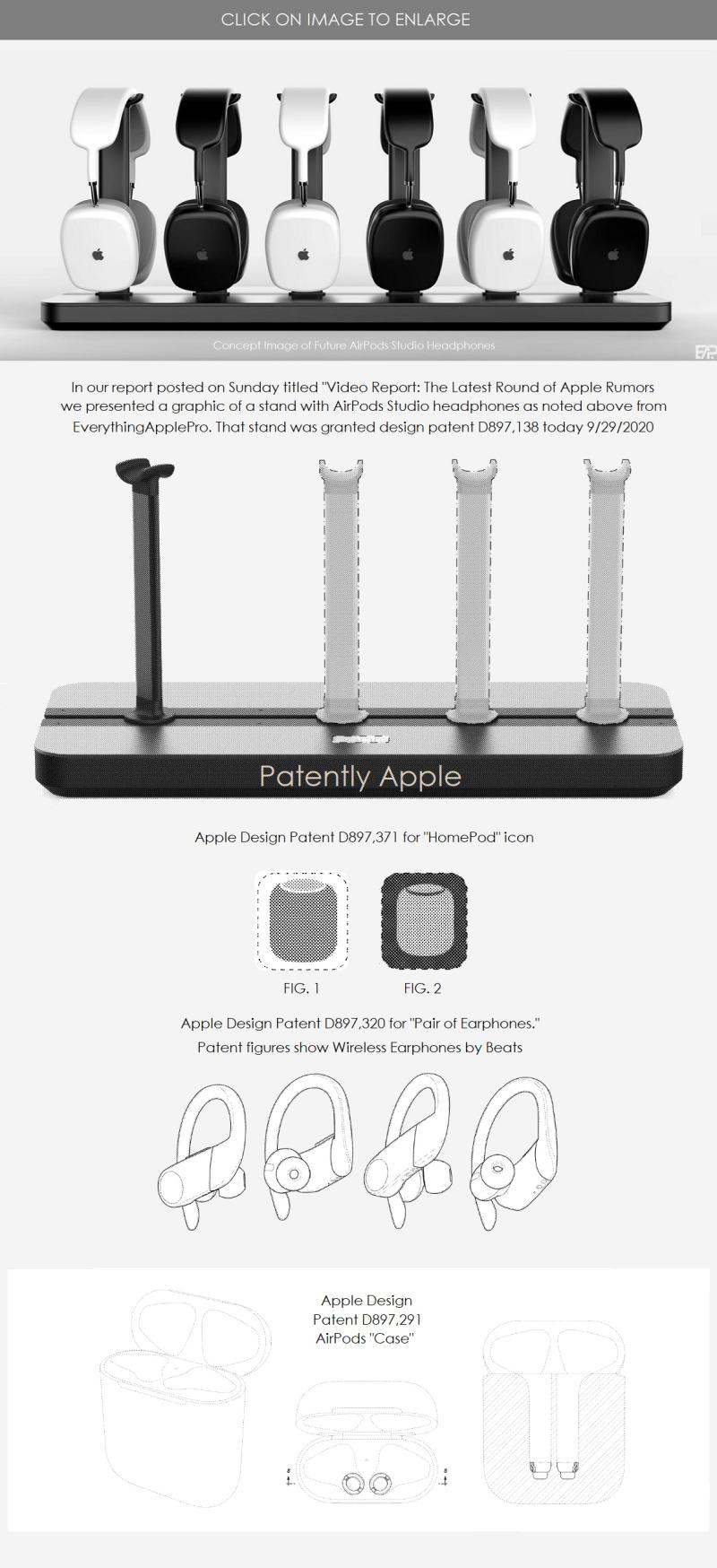 5. Apple Design Patents for sept 29  2020