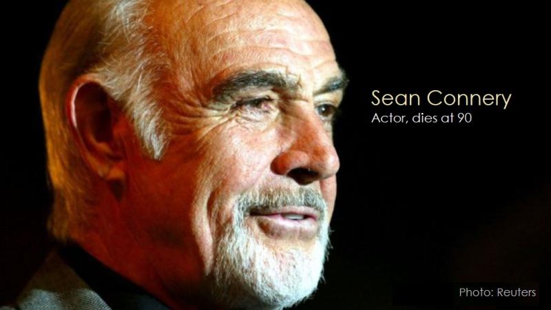 3 Sean Connery