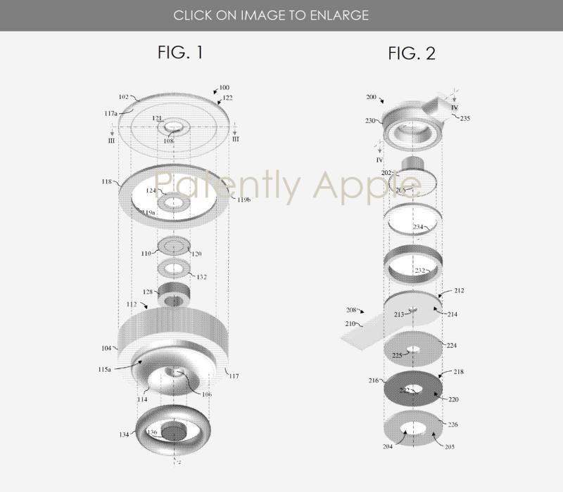 2 Water resistant PORT MODULES - Apple patent FIGS. 1 & 2