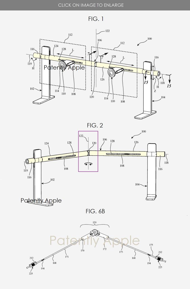2 Apple dual display patent
