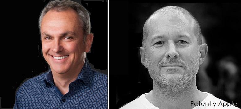 2  Apple's cfo luca  Maestri &  Jonathan Ive