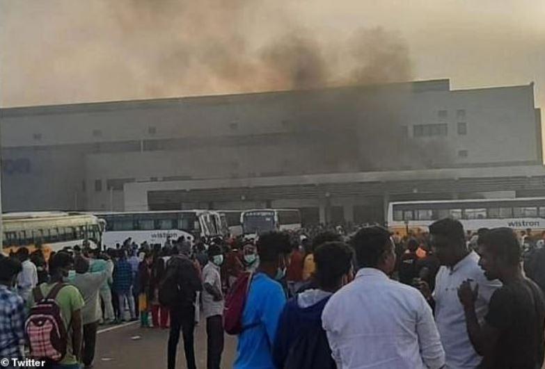 1 cover Wistron plant riot india dec 2020