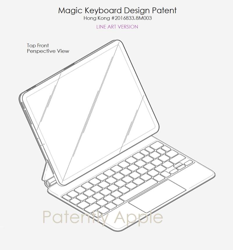 7 Magic Keyboard  LINE ART X1