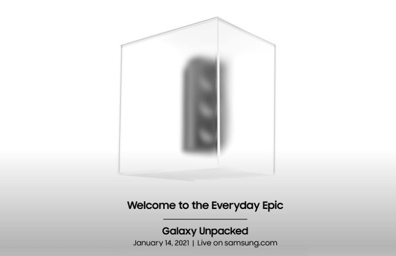 1 X Cover - Samsung Unpacked event announcement