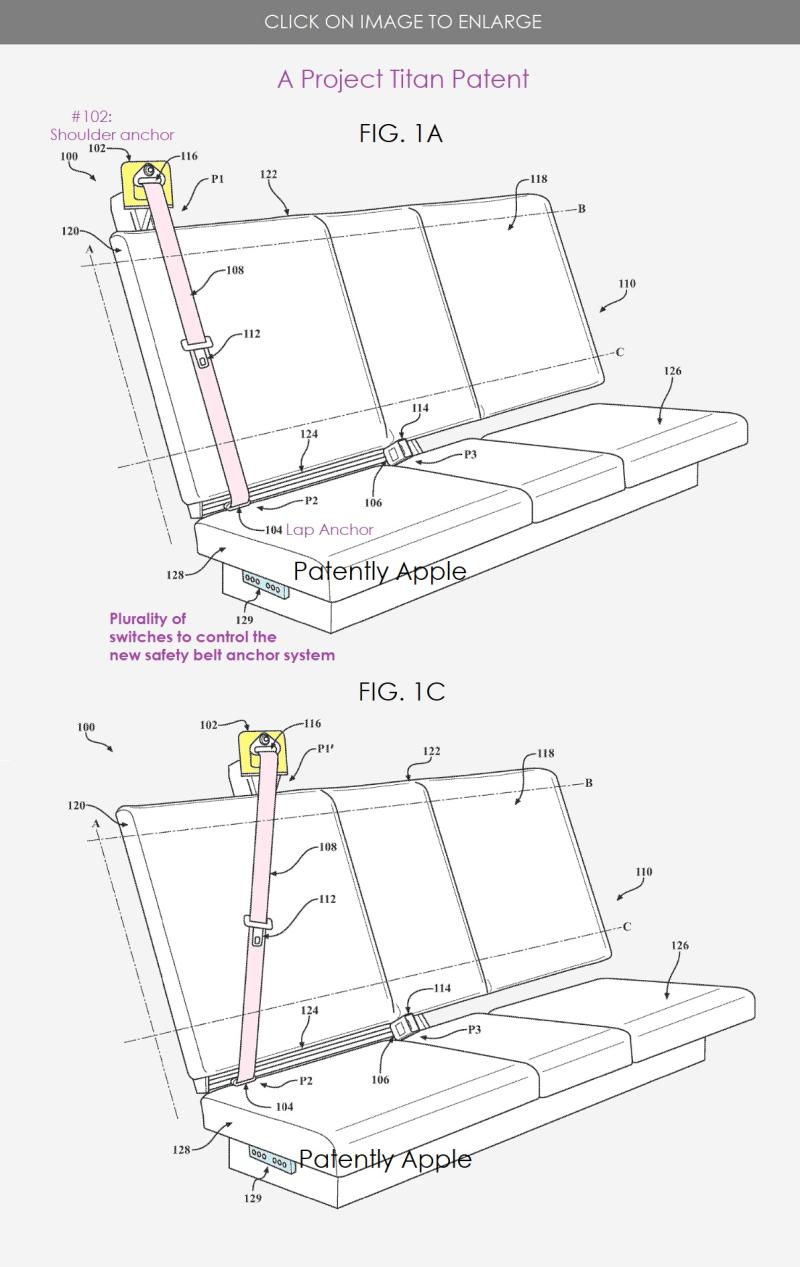 2 Project Titan next-gen seatbelt system