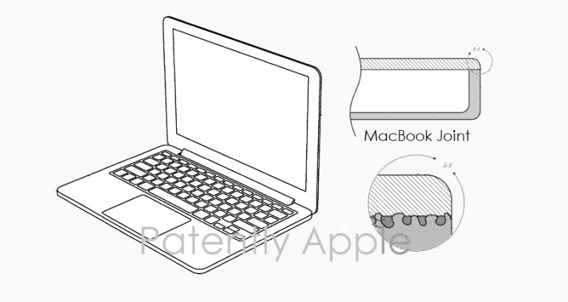 1 x cover Apple MacBook using Plastic with underlying titanium