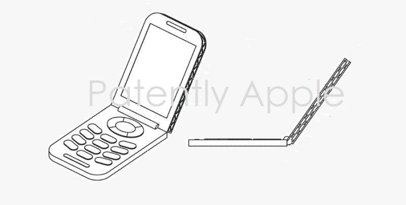 1 x Cover - apple patent figs for flip phone