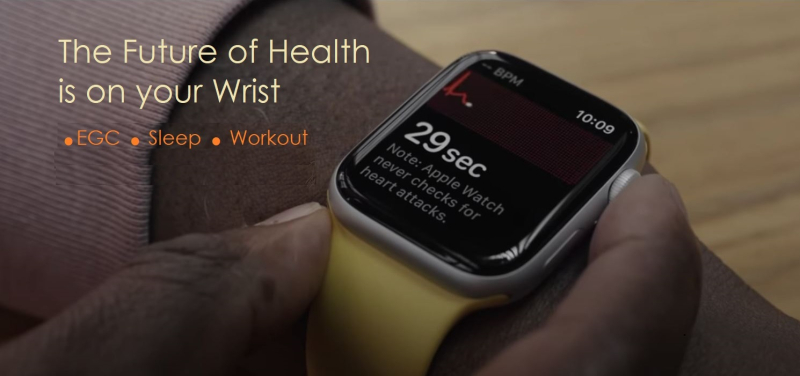1 cover Apple Watch  The Future of Health is on your Wrist